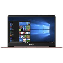 Ultrabook ASUS 14'' ZenBook UX430UA, FHD, Procesor Intel® Core™ i7-8550U (8M Cache, up to 4.00 GHz), 8GB, 256GB SSD, GMA UHD 620, Win 10 Pro, Rose Gold