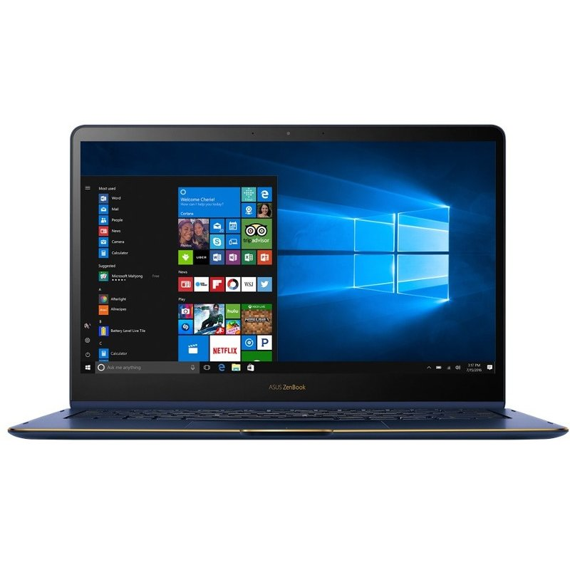 Laptop Asus Zenbook Flip Ux370ua-c4228r, 13.3 Fhd, Touch, Intel Core I7-8550u, 16gb Ram, 256gb Ssd, Intel Hd Graphics 620, Windows 10 Pro, Blue