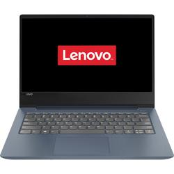 "Laptop ultraportabil Lenovo IdeaPad 330S-14IKB cu procesor Intel® Core™ i5-8250U pana la 3.40 GHz, Kaby Lake R, 14"", Full HD, IPS, 8GB, 1TB + 128GB SSD, Intel® UHD Graphics 620, Free DOS, MidNight Blue"