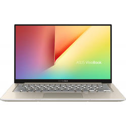 Ultrabook ASUS 13.3'' VivoBook S13 S330UA, FHD, Procesor Intel® Core™ i7-8550U (8M Cache, up to 4.00 GHz), 8GB, 256GB SSD, GMA UHD 620, Win 10 Home, Icicle Gold