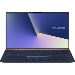 "Laptop ASUS ZenBook UX433FA-A5046T cu procesor Intel® Core™ i5-8265U pana la 3.90 GHz, Whiskey Lake, 14"", Full HD, 8GB, 256GB M.2 SSD, Intel® UHD Graphics 620, Microsoft Windows 10, Royal Blue Metal"