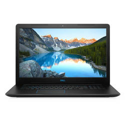 Laptop DELL Gaming 17.3'' G3 3779, FHD, Procesor Intel® Core™ i7-8750H (9M Cache, up to 4.10 GHz), 16GB DDR4, 1TB + 128GB SSD, GeForce GTX 1050 Ti 4GB, Linux