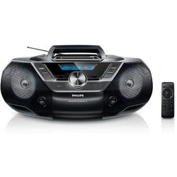Philips Microsistem audio AZ780, CD Player, tuner FM, USB, AUX, 2x1 W, negru