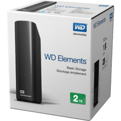 Western Digital HDD Extern Elements Desktop 2TB,USB3.0