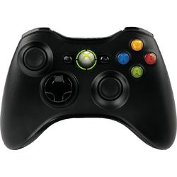 Microsoft XBOX 360 Wireless Controller, USB, negru, JR9-00010 JR9-00010