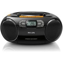Microsistem audio Philips AZ328/12, CD Player, tuner FM, USB, AUX, 2x1W