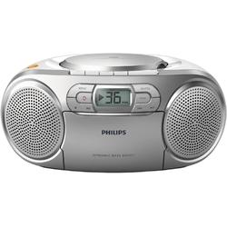 Philips Radio CD Player AZ127/12, CD Player, tuner FM, AUX, 2x1W