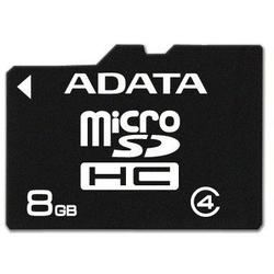 A-Data Card de memorie 8GB (SDHC clasa 4)
