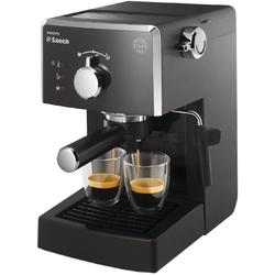 Philips Espressor manual Saeco Poemia HD8423/19, dispozitiv spumare, 15 bar, 1.25 l, negru