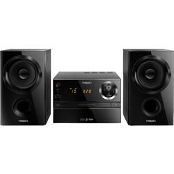 Philips Minisistem audio BTM1360/12, Bluetooth, USB, negru