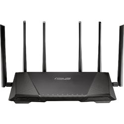 ASUS Router Wireless AC3200 Gigabit Tri-Band, 6 antene