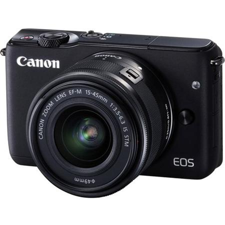 "Canon Camera foto EOS M10 kit 15-45mm, 18 MP, CMOS, 3"" LCD tactil"