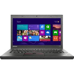 "Laptop Lenovo Thinkpad T450, 14"" Full HD, Intel Core i7-5600U, RAM 8GB, SSD 256GB, 4G, Win 7 Pro + Win 10 Pro, Negru"