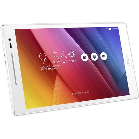 Tableta ASUS ZenPad 8.0 Z380M, 8 inch IPS MultiTouch, Procesor Mediatek MT8163, 2GB RAM, 16GB flash, Wi-Fi, Bluetooth, GPS, Android 5.0, White