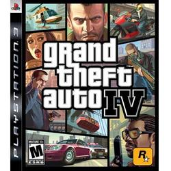 TAKE 2 INTERACTIVE GRAND THEFT AUTO IV (4) PS3