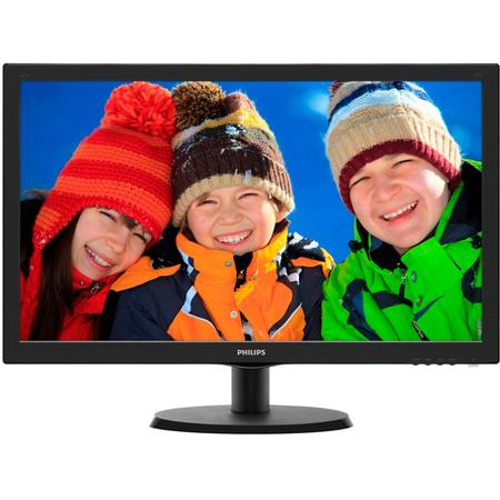"Monitor LED PHILIPS 21.5"", 223V5LSB2/62, FHD, 21.5"", 16:9, 5 ms, 200 cd/m2, Black"
