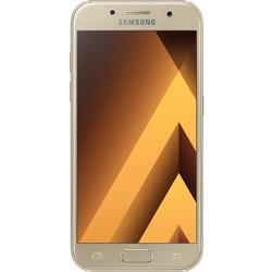 Telefon Mobil Samsung Galaxy A3 (2017), Single Sim 16GB, 4G, Gold