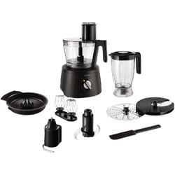 Philips Robot de bucatarie Avance Collection HR7776/90, 1300 W, bol 2.4 l, blender 1.5 l, 12 viteze + Pulse, negru