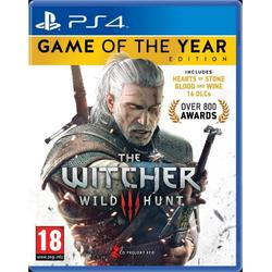 CD Projekt S.A THE WITCHER 3 WILD HUNT GOTY EDITION - PS4