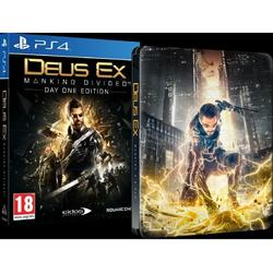 Square Enix Ltd DEUS EX MANKIND DIVIDED STEELBOOK EDITION - PS4