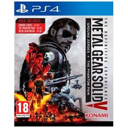 METAL GEAR SOLID 5 DEFINITIVE EXPERIENCE - PS4