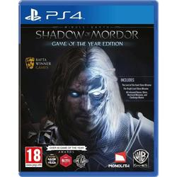 MIDDLE EARTH SHADOW OF MORDOR GOTY - PS4