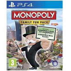 Ubisoft Ltd MONOPOLY FAMILY FUN PACK - PS4