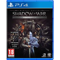 Warner Bros Entertainment MIDDLE EARTH SHADOW OF WAR SILVER EDITION - PS4