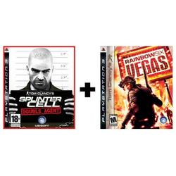 COMPILATION SPLINTER CELL DOUBLE AGENT & RAINBOW SIX VEGAS - PS3