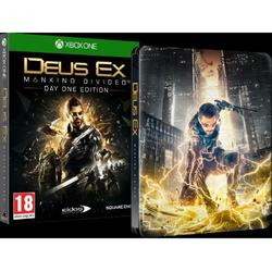 DEUS EX MANKIND DIVIDED STEELBOOK EDITION - XBOX ONE