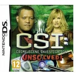 Ubisoft Ltd CSI 6 FATAL CONSPIRACY - DS
