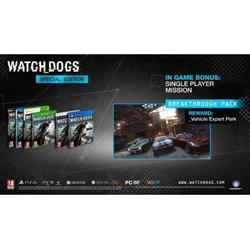 Ubisoft Ltd WATCH DOGS D1 EDITION - WII U