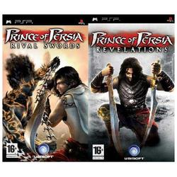 PRINCE OF PERSIA RIVAL SWORDS & PRINCE OF PERSIA REVELATION PSP COMPILATION - PSP