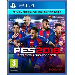 PRO EVOLUTION SOCCER 2018 PREMIUM EDITION - PS4