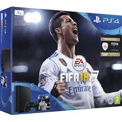 Sony Consola PS4 1 TB Slim Black + FIFA 18