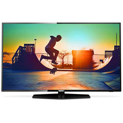 Televizor LED Philips, 139 cm, 4K Ultra HD, Smart TV, Ultra Slim, 55PUT6162/12