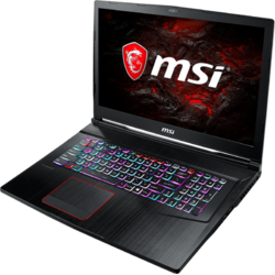 Laptop MSI Gaming 17.3''  GE73VR 7RF Raider , FHD, Intel Core i7-7700HQ ,  16GB DDR4 (2*8), 1TB + 512GB SSD, Geforce GTX 1070, 8GB GDDR5 , Win 10 Home, Black