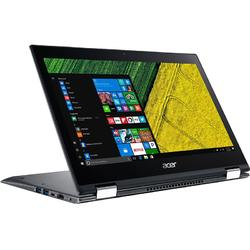 Laptop 2-in-1 Acer 13.3'' Spin 5 SP513-52N, FHD IPS Touch, Intel Core i7-8550U , 8GB DDR4, 256GB SSD, GMA UHD 620, Win 10 Home, Steel Gray