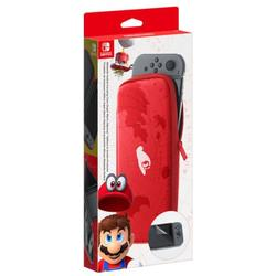 NINTENDO SWITCH CARRYING CASE & SCREEN PROTECTOR (SUPER MARIO ODYSSEY EDITION) - GDG