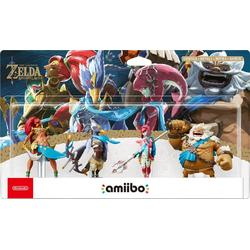 Nintendo AMIIBO ZELDA CHAMPIONS SET OF 4 (THE LEGEND OF ZELDA)