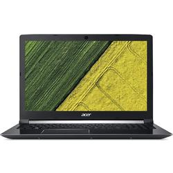 Laptop Acer 15.6'' Aspire 7 A715-71G, FHD, Intel Core i7-7700HQ , 8GB DDR4, 512GB SSD, GeForce GTX 1050 Ti 4GB, Linux, Black