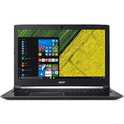 Laptop Acer 15.6'' Aspire 7 A715-71G, FHD, Intel Core i7-7700HQ , 8GB DDR4, 1TB, GeForce GTX 1050 Ti 4GB, Linux, Black