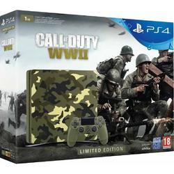 Sony Consola Playstation 4 Slim 1TB Black Limited Edition + Call Of Duty WWII