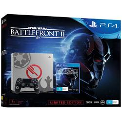 Sony Console Playstation 4 Slim 1TB Black Limited Edition + Game Star Wars Battlefront II