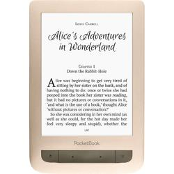 eBook Reader PocketBook Touch Lux 3, E Ink Carta, HD, 4GB, Wi-Fi, LED frontlight, Auriu