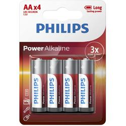 Philips Baterii POWER ALKALINE AA 4-BLISTER