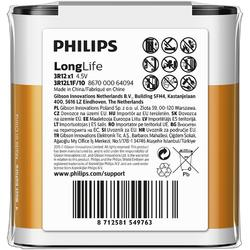 Philips Baterii LONGLIFE 4,5V 1-FOIL W/ STICKER