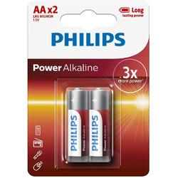 Philips Baterii POWER ALKALINE AA 2-BLISTER