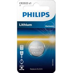 Philips Baterie Lithium 3.0V coin 1-blister CR2025