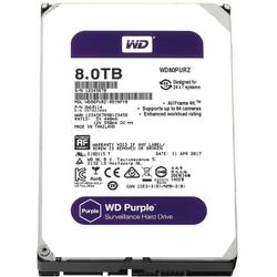 Hard disk Western Digital New Purple 8TB SATA-III IntelliPower 128MB